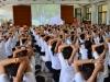 100272 โครงการพัฒนาคุณธรรมจริยธรรมสำหรับนักศึกษา อาจารย์ และบุคลากรคณะครุศาสตร์ 2558