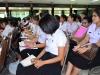 100280 กิจกรรมปฐมนิเทศ นักศึกษาฝึกปฏิบัติวิชาชีพครู 1 นักศึกษาหลักสูตรครุศาสตร์บัณฑิตชั้นปีที่ 4 (รหัส 55) ภาคการศึกษาที่ 1/2558