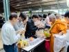 """100730 โครงการอนุรักษ์วัฒนธรรมไทย """"ทำบุญคณะครุศาสตร์ ในโอกาสปีใหม่ 2562"""""""