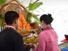 100911 สาขาวิชาภาษาไทย คณะครุศาสตร์ จัดงานบุญผะเหวดหรืองานบุญมหาชาติ
